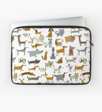 Cute dogs collection Laptop Sleeve