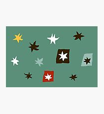 Star starry and stars Photographic Print