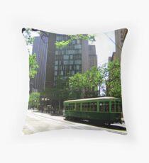 Trams Throw Pillow