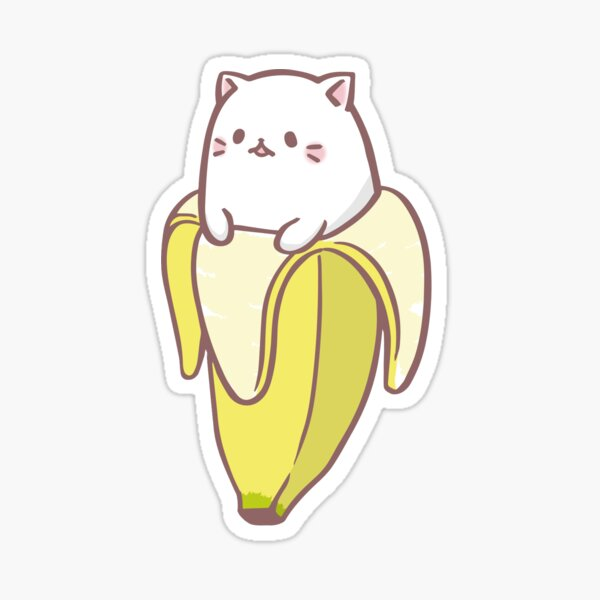Bananya Banana cat Sticker