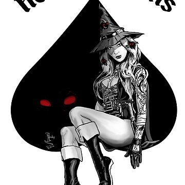 Witch Pin Up by Ntok