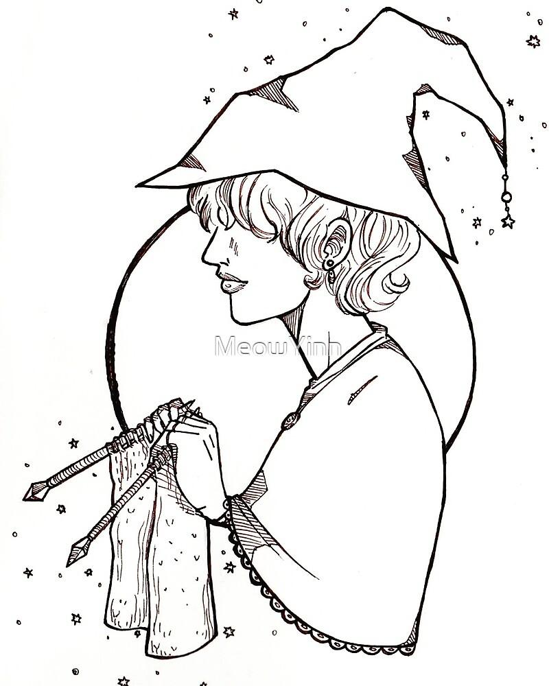 Knit Witch  by MeowYinn