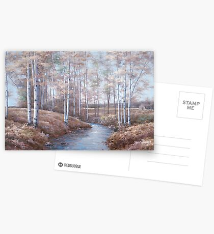BIRCH CREEK Greeting Card