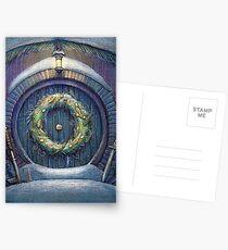 Tolkien Fantasy Weihnachtskarte Postkarten