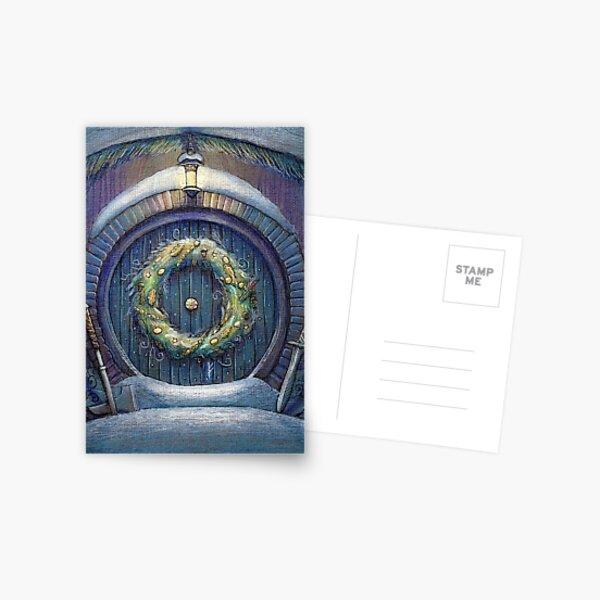 Tolkien Fantasy Christmas Card Postcard