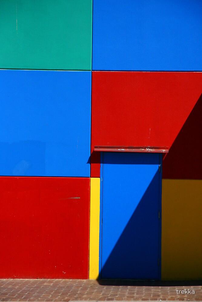 Blue Door by trekka