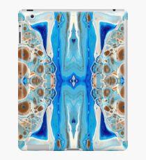 Blue Fluid Acrylic Artwork iPad Case/Skin