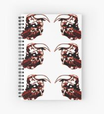 Epically Metal Particles - Red Spiral Notebook