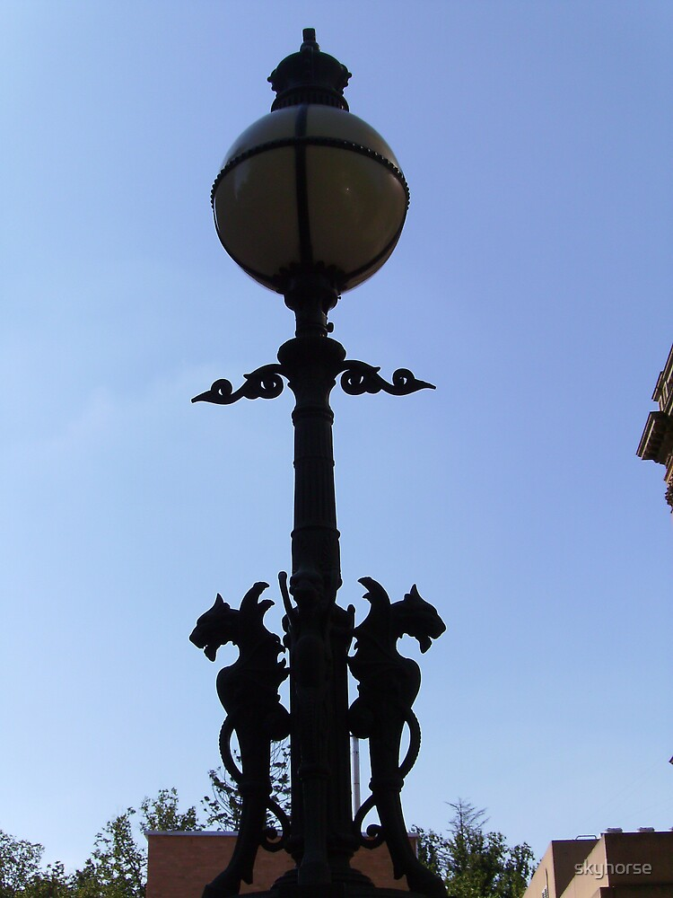 Lamp in Bendigo 2 by skyhorse