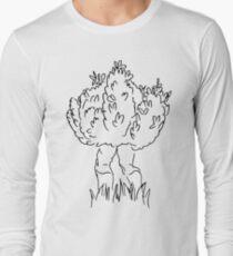 Just a bush... walking Long Sleeve T-Shirt