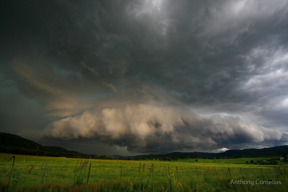 Tamworth Supercell by Anthony Cornelius
