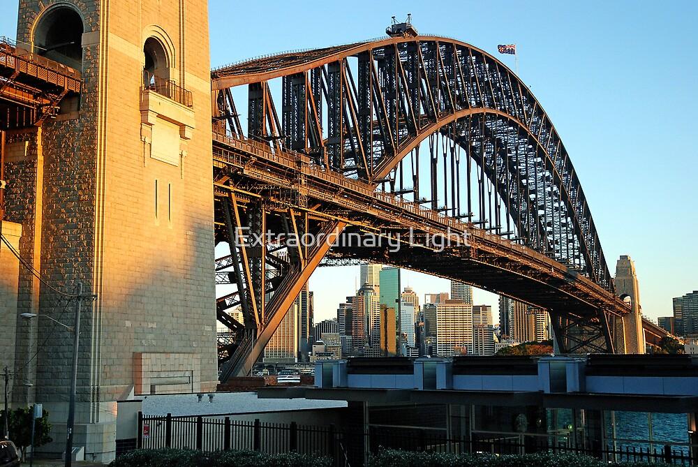 City under the Bridge by Extraordinary Light