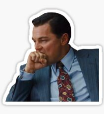 The Wolf of Wall Street - Biting Sticker Sticker