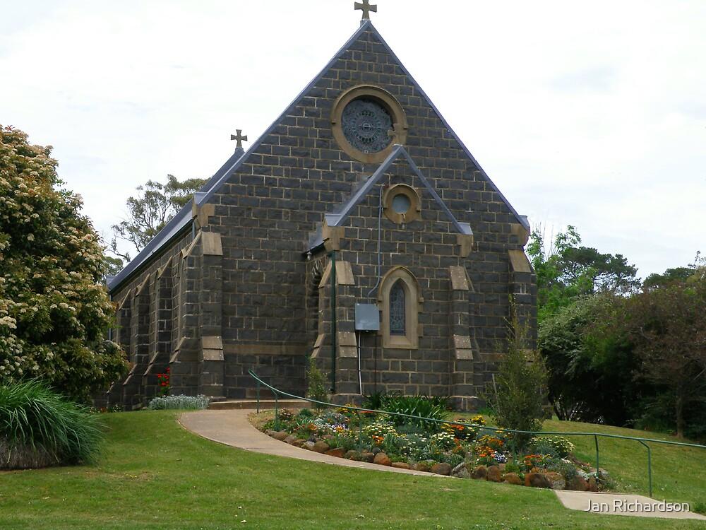 Millthorpe Anglican Church by Jan Richardson