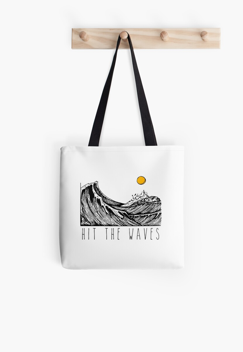 Hit The Waves - HandDrawing by virimah