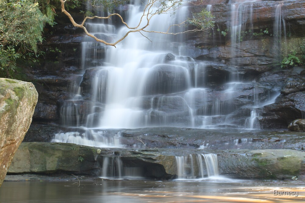 Somersby Falls 6 by Barnesy