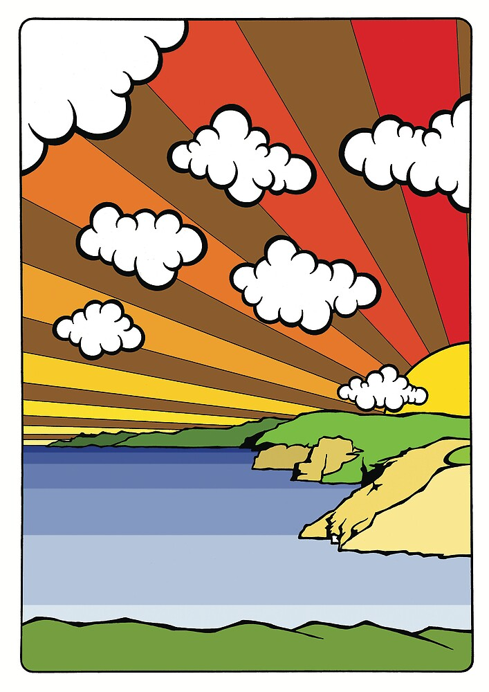 North Coast Sun by Mat McIvor