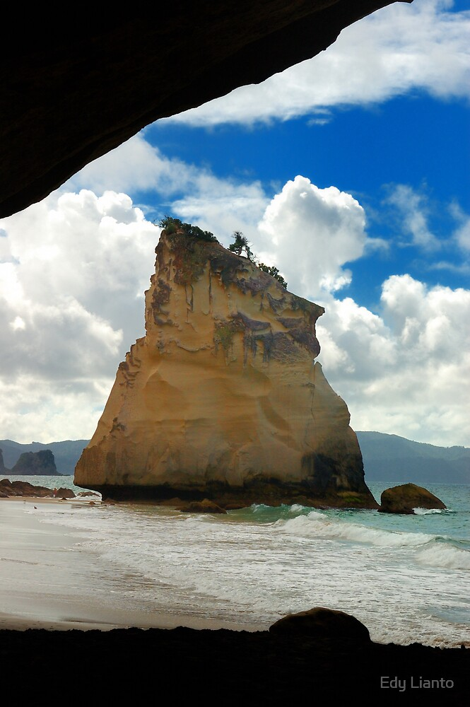 Cathedral Cove by Edy Lianto