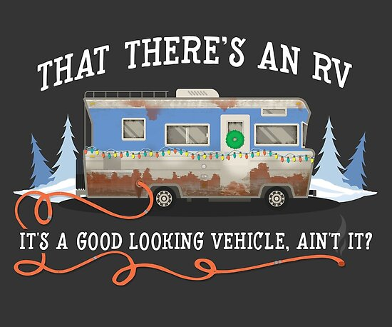 Christmas Vacation Rv.Christmas Vacation Eddie S Rv Poster By Ninthstreet