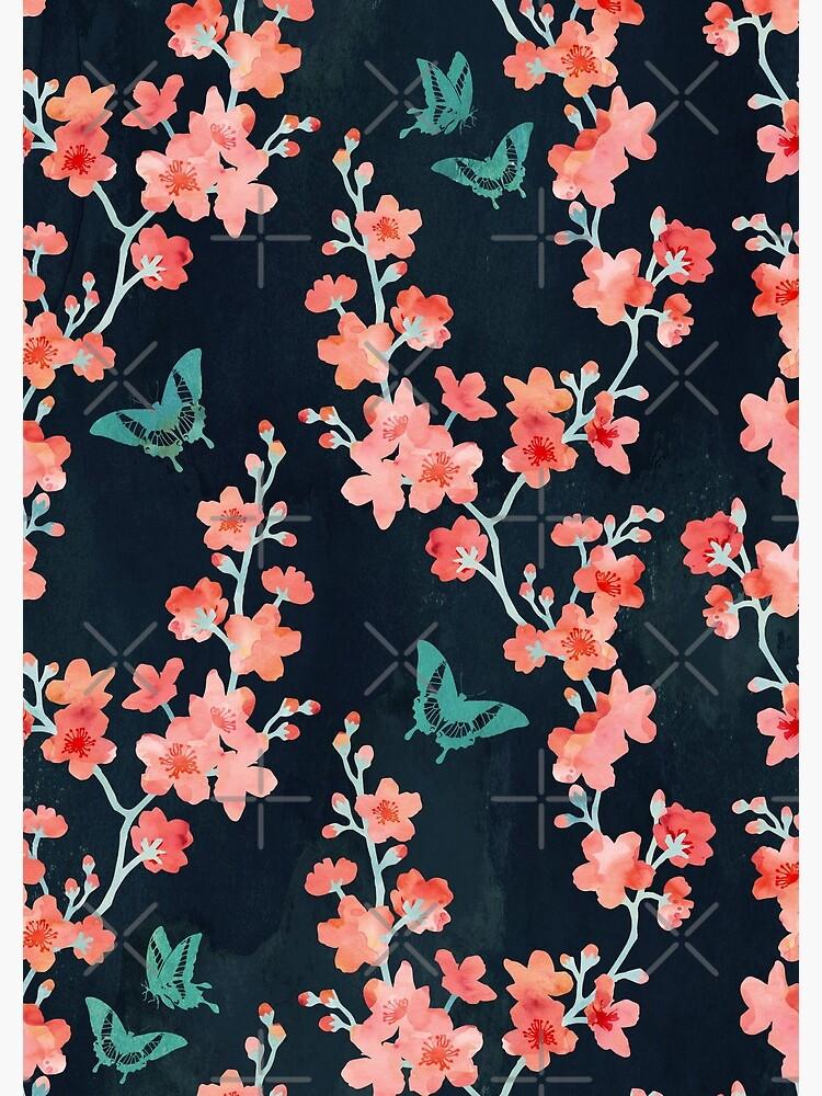 Sakura butterflies bold by adenaJ