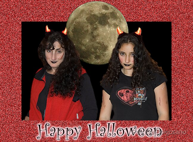 Happy Halloween Ecard to my Friends by Patricia Bolgosano