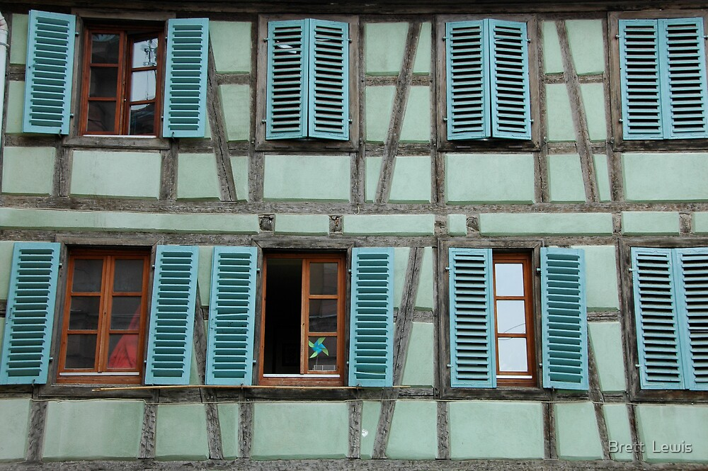 Alsace, France by Brett  Lewis