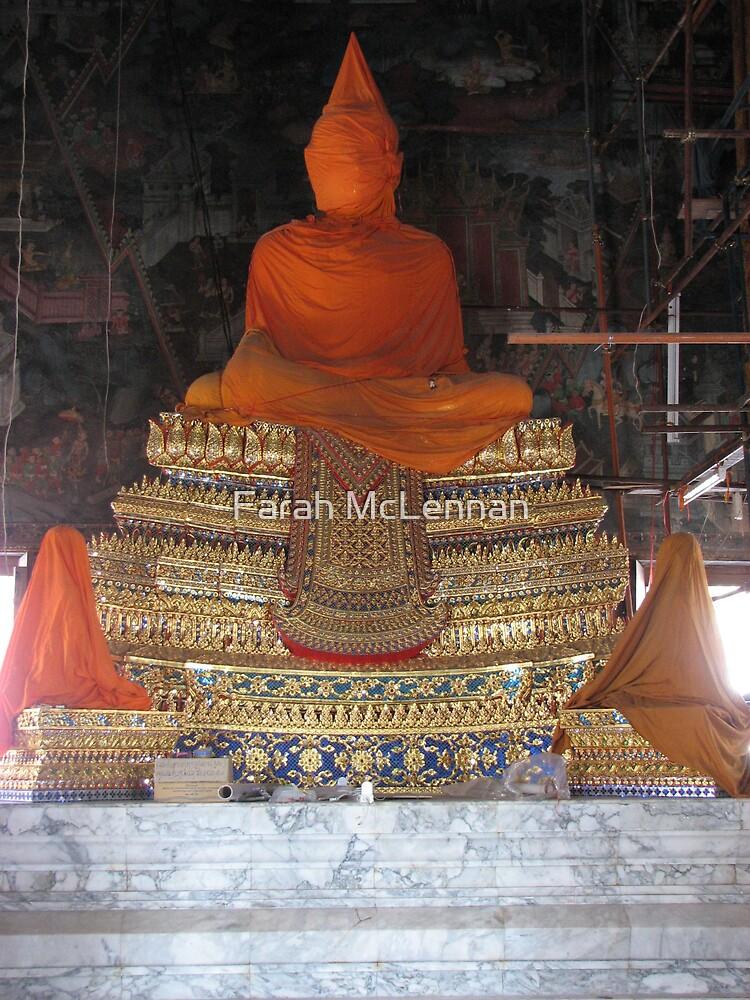The Saffron Buddha  by Farah McLennan