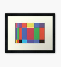 Original Book Spines Framed Print