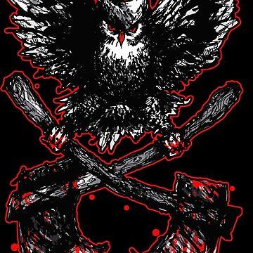 Death Metal - owl by Skady666