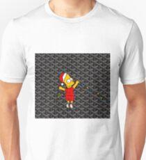 Bart Simpsons Goyard Merry Christmas T-Shirt