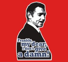 Frankly, my dear, I don't give a damn!