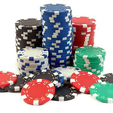 poker game chips by navigatorsteel