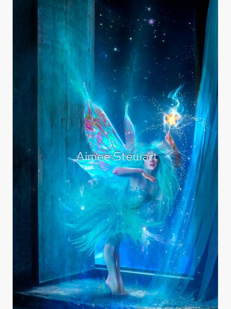 The Blue Fairy by Foxfires