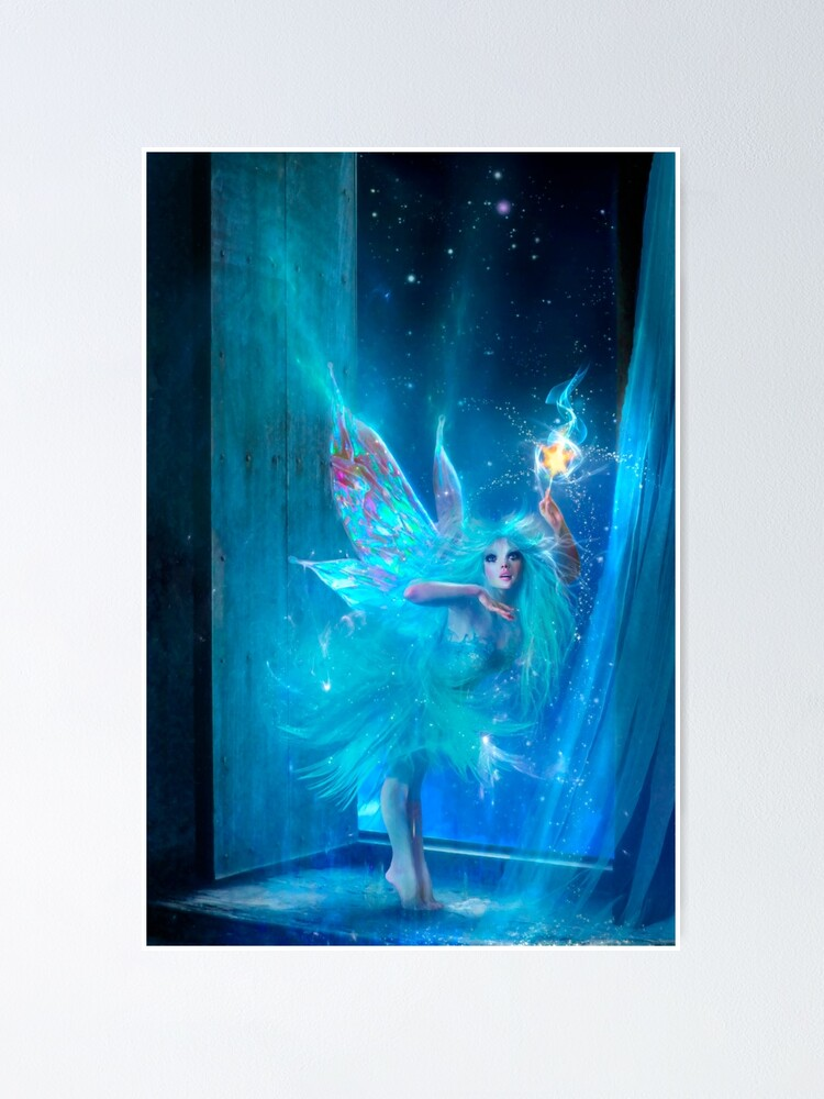 Alternate view of The Blue Fairy Poster