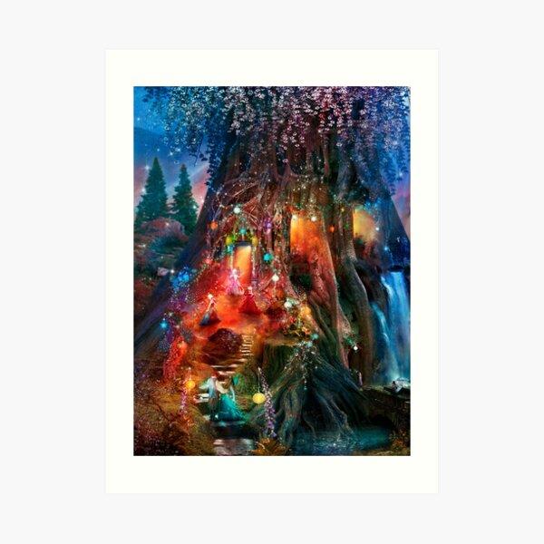 The Foxglove Ball Art Print