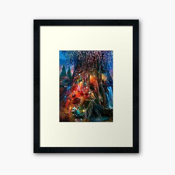 The Foxglove Ball Framed Art Print