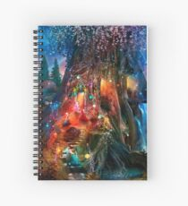 The Foxglove Ball Spiral Notebook