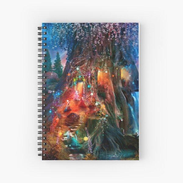 The Foxglove Ball Spiral Notebook