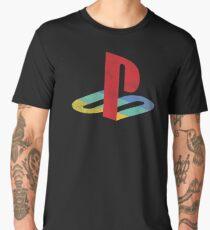 Playstation faded Men's Premium T-Shirt