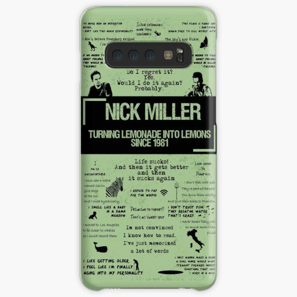 NICK MILLER Samsung Galaxy Snap Case