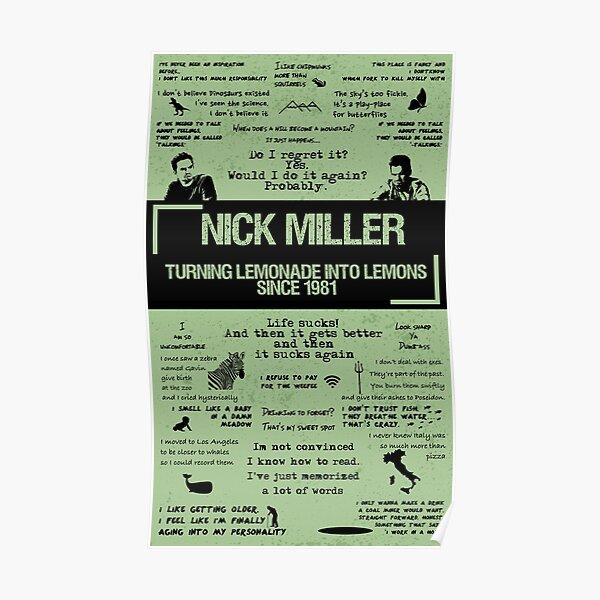 NICK MILLER Poster