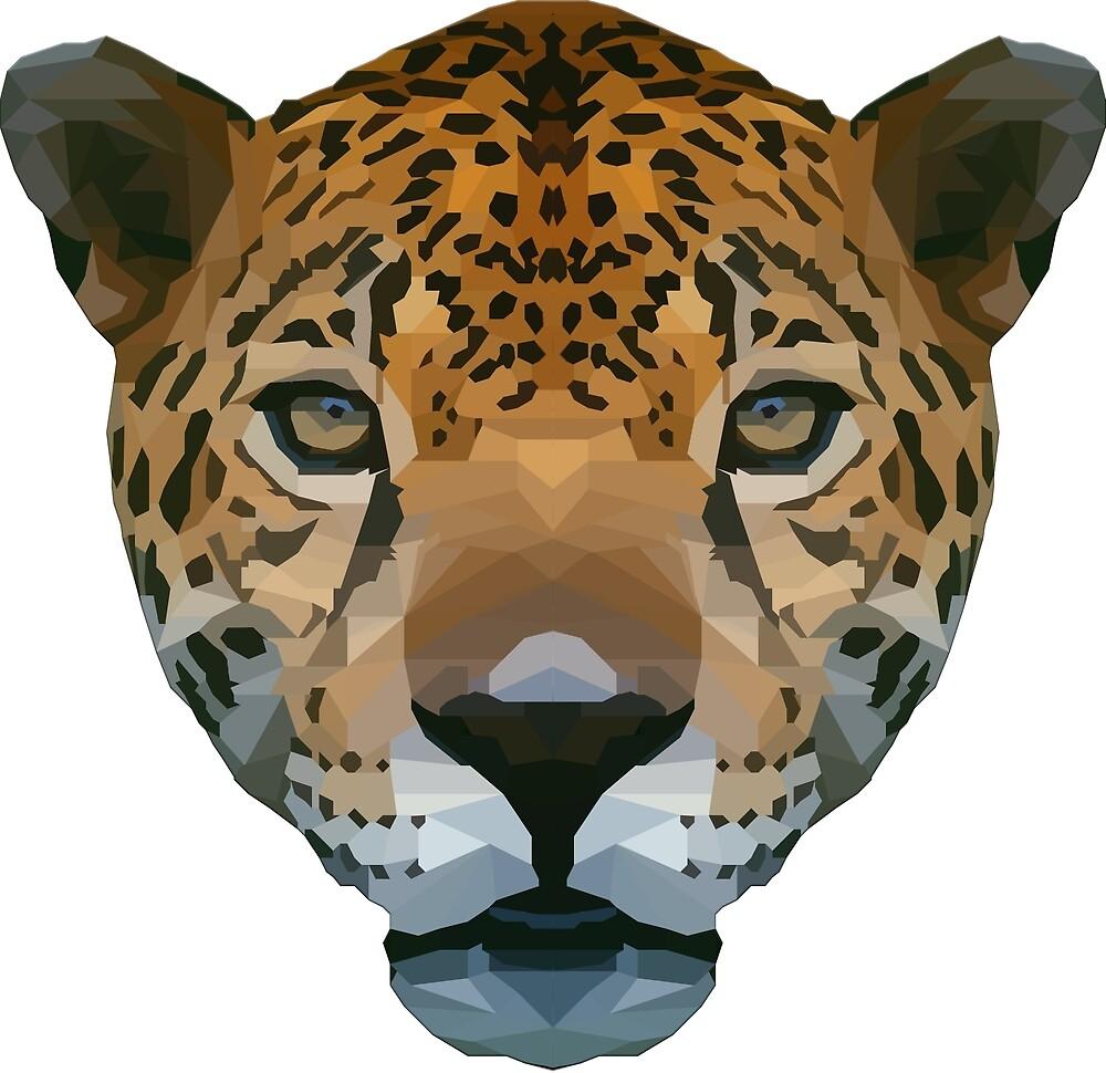 Polygon Jaguar by Colloff