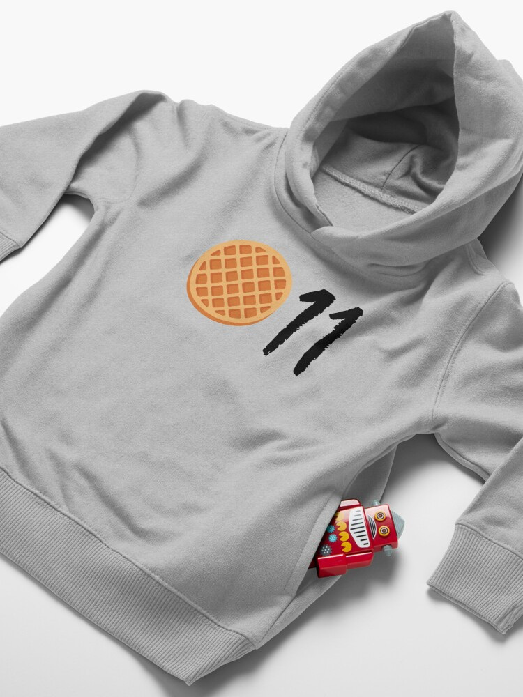 Alternate view of Stranger Things - Eleven Toddler Pullover Hoodie