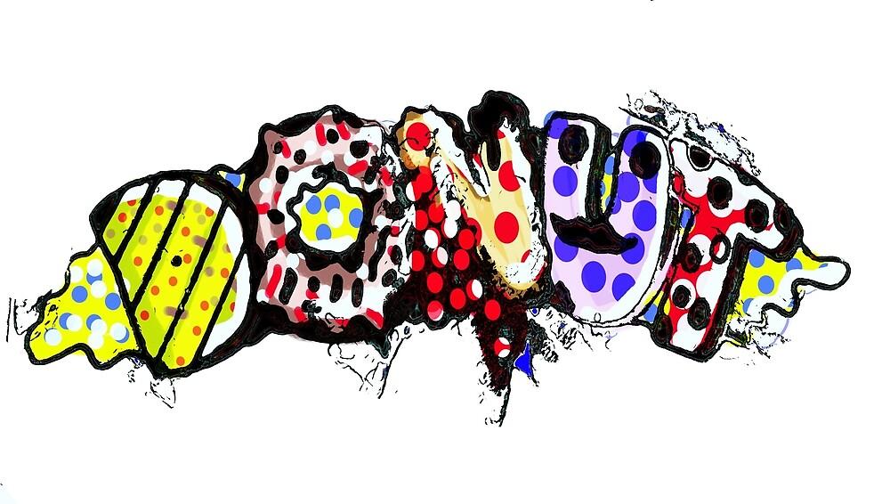 donut graffiti gang by judashmetking