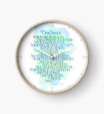 Our Father Which Are In Heaven Clock
