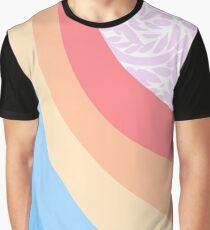 Retro Palette Rainbow Graphic T-Shirt