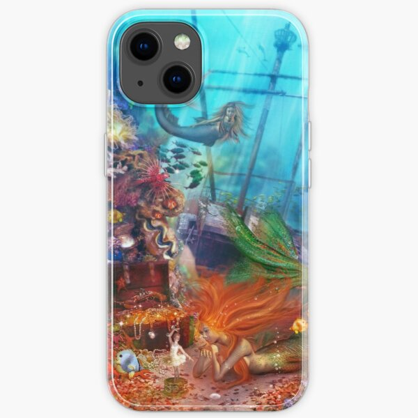 The Mermaid's Treasure iPhone Soft Case
