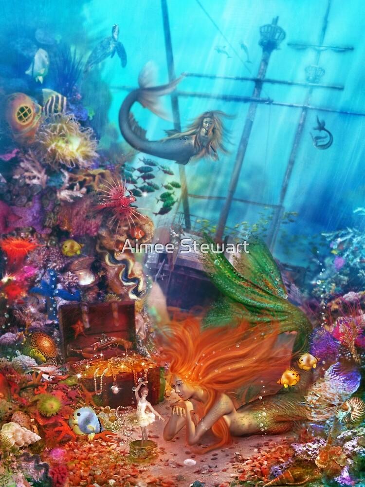 The Mermaid's Treasure by Aimee Stewart