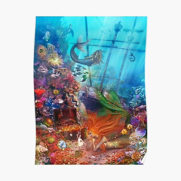 The Mermaid's Treasure Poster