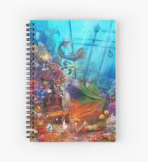 The Mermaid's Treasure Spiral Notebook
